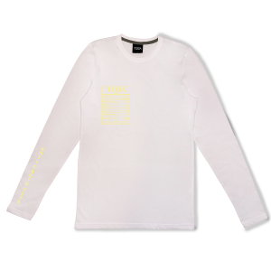 Facts Longsleeve White