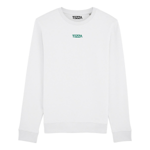 Text Sweater White