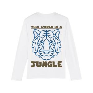 Tiger Longsleeve White