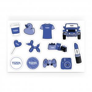Tezza Stickers